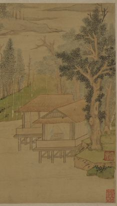 The Art of Chinese Landscape Paintings 87
