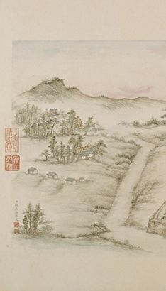The Art of Chinese Landscape Paintings 52