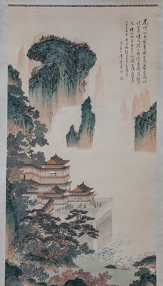 The Art of Chinese Landscape Paintings 113