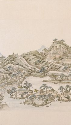The Art of Chinese Landscape Paintings 53